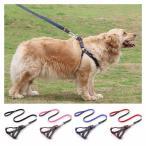 ペット用 犬用 ハーネスリードセット 犬用ハーネス 犬用リード 5サイズ 4色 お散歩 お出かけ 2重 長持ち リードセットう