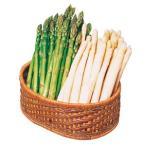 蘆筍 - [北海道]グリーン・ホワイトアスパラセット M〜Lサイズ混 各400g のし・包装不可