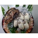 広島県産生牡蠣 むき身1kgと殻付10個セット 産地直送 かき小町