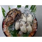 広島県産生牡蠣 むき身1kgと殻付6個セット 産地直送 かき小町