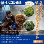 【送料無料】岩手三陸 わかめ・ふのり・すき昆布よりどり3点セット
