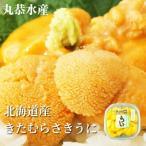 うに ウニ 北海道産 うに 塩水ウニ きたむらさきうに 生うに 100g (無添加 海洋深層水使用)