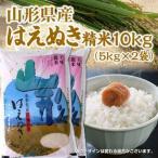 米 はえぬき 10kg (5kg×2袋) 送料無料 平成29年度産 山形県産  精米済 コメ