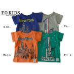ショッピングF.O.KIDS F.O.KIDS エフオーキッズ 4色2柄Tシャツ R307906 キッズ ベビー トップス 半袖 子供 子ども 4014771