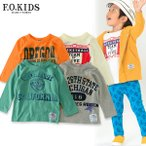 ショッピングF.O.KIDS F.O.KIDS エフオーキッズ 4柄州Tシャツ R106047-14m キッズ ベビー トップス 長袖 ロンT 子供 子ども 4015715 ポッキリ ぽっきり