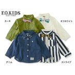 F.O.KIDS エフオーキッズ 蝶ネクタイシャツ R108027 キッズ ベビー トップス フォーマル 子供 子ども 4015801