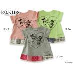 F.O.KIDS エフオーキッズ DYガールズミッキーマウスチュニック R207327 キッズ ベビー トップス 半袖 ワンピース 子供 子ども 4015991 DYC