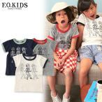 F.O.KIDS エフオーキッズ P.O.W半袖Tシャツ R207207 キッズ ベビー トップス 半袖 子供 子ども 4016366
