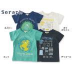 Seraph セラフ プリントTシャツ S307067 キッズ ベビー トップス 半そで 半袖 子供 こども 子ども 4016477