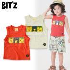 Bitz ビッツ 動物BOXptタンクトップ B310047 キッズ ベビー ノースリーブ 総柄 子ども 4016596