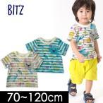 ショッピングビッツ ビッツ 動物柄Tシャツ B307028-12M キッズ ベビー トップス 総柄 プリント アニマル 子供服 Bitz 4018980