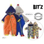 ショッピングジャンプスーツ Bitz ビッツ リバーシブルジャンプスーツ B426016-MG 6003351 ベビー トップス カバーオール ロンパース ロンパス 防寒 子供服 子ども服 冬服 f6s