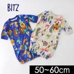 ショッピングビッツ メール便可ビッツ B429028-60M 童話柄2WAYドレス ベビー トップス ロンパース ロンパス カバーオール 長袖 前開き  赤ちゃん Bitz 6003874