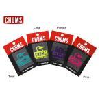 CHUMS チャムス Booby Face Emboss Sticker CH62-0118 7007194 レディース メンズ ブービーフェイスエンボスステッカー シール アウト...