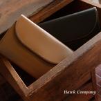 Hawk Company ホークカンパニー 二つ折りフラップレザーウォレット レディース メンズ 財布 さいふ サイフ ウォレット 牛革 7209-MG 7007249