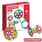 BorneLund ボーネルンド MAGFORMERS(マグフォーマー) ベーシックセット 62ピース MF701007 キッズ おもちゃ 玩具 知育玩具 工作 プレゼント ギフト