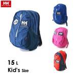 ヘリーハンセン K Skarstind Pack[15L] HYJ91701-MG キッズ ベビー カバン かばん バック バッグ リュック ディパック 子供 子ども HELLY HANSEN 7007642