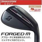 【最終価格!】BRIDGESTONE GOLF (ブリヂストン ゴルフ) FORGED M (フォージド) BLACK (ブラック) WEDGE (ウェッジ) 軟鉄鍛造 スチールシャフト装着 日本正規品