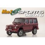 メルセデス AMG G55L (レッド) ミニッツオーバーランド スポーツレディセット 京商 32061R