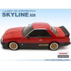 ニッサン スカイライン R30 ABC:66098【RCカー1/10用 01スーパーボディスペアボディ】