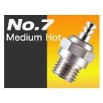 No.7 プラグ Medium Hot 【OS 71607100 ラジコン/2サイクルグロープラグ】