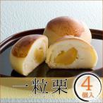 一粒栗 4個入 和菓子 栗 まんじゅう ギフト プレゼント 栗菓子