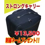ストロングキャリー大容量 剣道防具袋 刺繍ネーム付 L約30×W約50×H約54