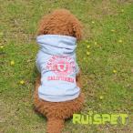 ショッピングトレーナー スポーツパーカー (グレー) XSサイズ カリフォルニアデザインのパーカー 犬の服