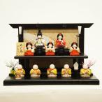 ショッピング雛人形 雛人形 原孝州作 めぐみ雛 木目込み雛人形 十人飾り