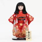 雛人形 ひな祭り 松寿作 市松人形 切嵌金彩京刺繍 桜