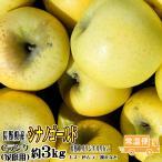 シナノゴールド 送料無料 Cランク(家庭用)約3kg 長野産りんご (8玉-11玉) 訳あり 長野県オリジナルりんご