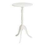 サイドテーブル 脚のデザインがポイントクラシック
