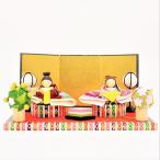 雛人形 コンパクト ちりめん 小さい 手作り/みやび親王飾り/お雛様 ひな祭り ひな人形 人形 飾りミニ 可愛い人気