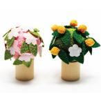 雛人形 コンパクト ちりめん 小さい 手作り/桜と橘/お雛様 ひな祭り ひな人形 人形 飾りミニ 可愛い人気