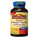 ネイチャーメイド スーパーマルチビタミン&ミネラル 120粒入り【Nature Made、セレン酵母、クロム酵母、サンゴカルシウム】