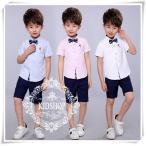 男の子女の子シャツ半袖入学式卒園式子供服 お受験フォーマル発表会結婚式