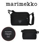 Marimekko マリメッコ ショルダーバッグ MY THINGS  マイシングス ROADIE ローディ ブラック バッグ 旅行 トラベル  ユニセックス 一部分の商品翌日発送可能