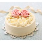 バタークリームケーキ 5号 誕生日ケーキ