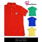 ジミーズチャーマー Jimy's Charmer パイルポロ ユニセックス 4カラー 秋山成勲 ジローラモ LEON 雑誌掲載 shirts