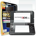ニンテンドー3DS LL フィルム 4枚セット 任天堂 ニンテンドー 3DS LL 保護フィルム タッチ 画面 シート 送料無料