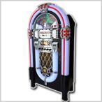 【着後レビューで送料無料】JUKE BOX風 大型音楽プレイヤー CDプレイヤー/FMラジオ/USBフラッシュ/SDカード/外部入力φ3.5mm