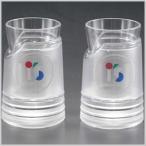 新潟合成 I's(アイス)シリーズ ミニグラス 2PCS  70ml 70cc グラス ビアグラス アイスグラス タンブラーグラス ロックグラス