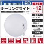 シーリングライト LED 12畳 LEDシーリングライト 昼光色 リモコン付き 3段階調光 ライト 照明 天井照明