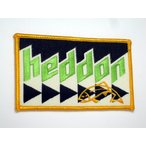 ヘドン heddon 刺繍ワッペン 黄フチ