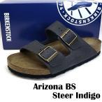 ショッピングビルケン ビルケンシュトック BIRKENSTOCK Classic Arizona BS 1008925 アリゾナ ソフトフットベッド サンダル 紺 メンズ