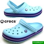 ショッピングcrocs クロックス crocs Crocband 11016-4O9 ice blue クロックバンド クロッグ サンダル レディース/メンズ