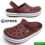 クロックス crocs Crocband 11016-6MS garnet/white クロックバンド クロッグ サンダル メンズ