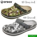 クロックス crocs crocband camo clog 203191 クロックバンド カモ クロッグ サンダル 025 3J5 メンズ