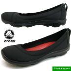 ショッピングCROCS クロックス crocs busy day stretch flat w 203194-060 黒 ビジーデイ ストレッチ フラット スリッポン/レディース