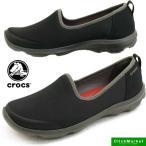 クロックス crocs busy day stretch skimmer w 203195-02S 黒 ビジーデイ ストレッチ スキマー スリッポン/レディース